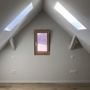 Rénovation en bois d'une maison individuelle