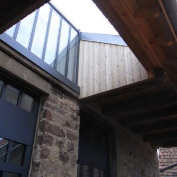 Rénovation d'une grange en maison d'habitation