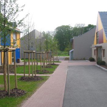 Bâtiment public réalisé en ossature bois