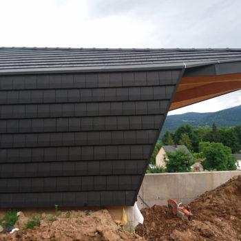 Maison individuelle en bois, bardage bois