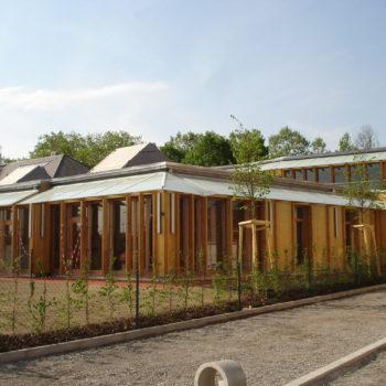 Ecole primaire ossature et bardage et bois