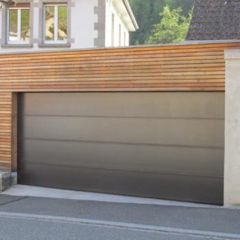 garage en bois, bardage en bois horizontal