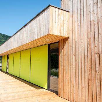 Bardage en bois et terrasse en bois