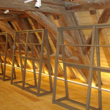 Rénovation de la charpente bois d'un monument