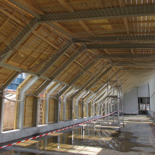 Rénovation en bois de la toiture du tribunal de Grande Instance de Strasbourg