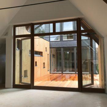 Rénovation et agrandissement d'une maison d'habitation en bois
